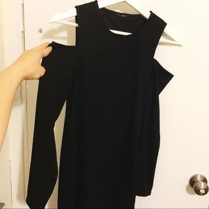 Zara Cold Shoulder LBD